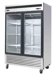 Glass Refrigerator Atosa Mcf8707 Bottom Mount 2 Glass Door Refrigerator
