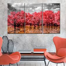 Our pastel marsh wall art preserves the moment in soft impressionistic brushstrokes of soft white, tinges of blush, and. 3 Piece Set Trees Wall Art Canvas Painting Landscape Wall Art Canvas Painting Natural Nature Lan Canvas Art Wall Decor Wall Art Canvas Painting Cheap Wall Art