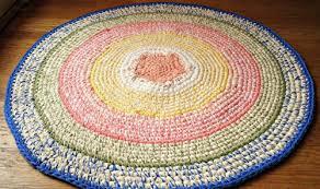 rug round rug crochet rug small round rug nursery rug kitchen