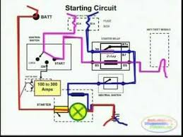starting system wiring diagram starting system wiring diagram