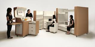 japanese office furniture. Kenchikukagu 3 Tiny Portable Rooms From Japan That Open Like A Suitcase Japanese Office Furniture