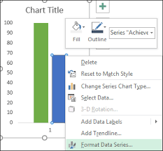 Fill In Thermometer Chart How To Create A Thermometer Chart In Excel Static