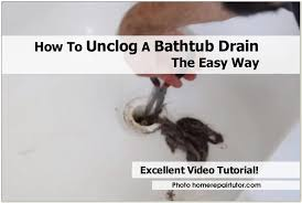 unclog bathtub drain reddit