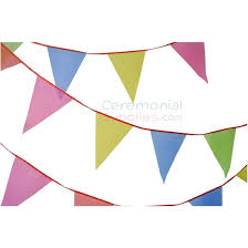 Pendant Banner Decorative Multi Colored Pennant Banner Ceremonialsupplies Com