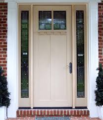 white front door with glass. Astounding White Beige Door With Bronze Handle And Side Window Glass Lowes Front Doors L