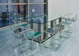 modern glass meeting tables
