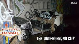 Living Under Vegas Exploring Las Vegas Underground City Youtube