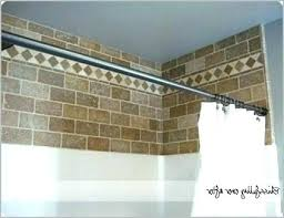 bathtub shower tile surround ideas height installation over above install base bathrooms likable fi