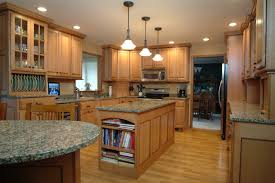 Superior Quarter Sawn Oak With Black Walnut Accents Traditional Kitchen Good Looking
