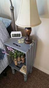 wooden crates furniture. night stand wood crate apple diy etsy wooden crates furniture
