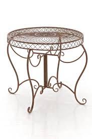 table sheela garden shabby chic iron new metal