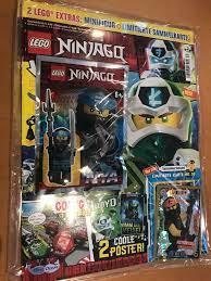 Lego Ninjago Magazin Nr. 63 (mit Lego Figur & LE 18)