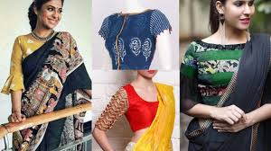 Latest Full Sleeves Blouse Designs Latest Blouse Sleeves Design Ideas For Saree Lehenga Beautiful Blouse Designs For Sarees