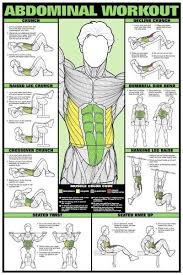 Www Buyamag Com Bodybuilding Posters Exercise Workout Charts