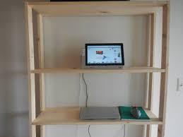 DIY Standing Computer Desk