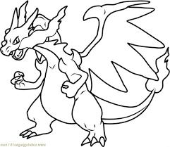 Pokemon Coloring Pages Charizard Ra3m Pokemon Mega Charizard Y