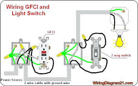 gfci light switch outlet wiring diagram electrical tips light switch wiring diagram for light switch and outlet gfci light switch outlet wiring diagram electrical tips light switch wiring diagram pool light wiring combination