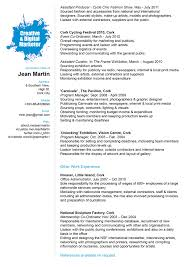 Experience Resume With Work Experience