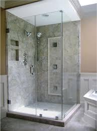 how to cut tempered gl shower doors image cabinets and