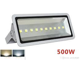 Epistar Super Led Lights Ip65 500w Led Floodlight 50000lm Super Bright Epistar Chip 100 Full Watt Thick Lamp Shell Outdoor Light Ir Flood Light Uv Flood Light From