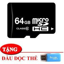 Thẻ nhớ 64gb microsc hd tốc độ cao- chuyên dụng lưu trữ cho điện thoại đài  nghe nhạc