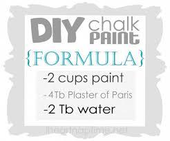 how to make chalk paint on iheartnaptime com diy