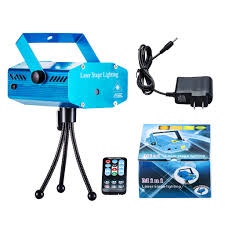 hot mini projector r g dj disco light stage xmas party laser lighting show remote control bl