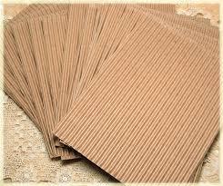 corrugated cardboard 15 sheets