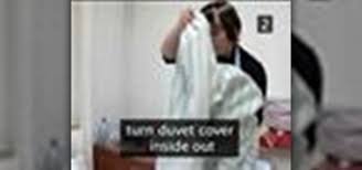how to put a duvet cover on your comforter housekeeping