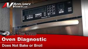 kitchenaid whirlpool wall oven diagnostic does not bake or broil you