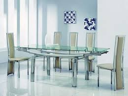 glass dining table and chairs set brilliant ideas extending black i for t home design styles 6 seater round