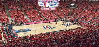 Arizona Mckale Center Seating Chart Arizona Wildcats Basketball Tickets Vivid Seats