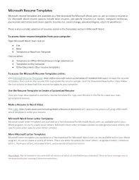 How To Make Resume On Microsoft Word 2010 Microsoft Word 2010 Cv Template Goiss Co