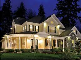Modern Country Style Homes Lighting