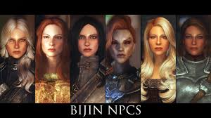 Skyrim Hair Style Mod tes v skyrim mods bijin npcs youtube 1722 by wearticles.com