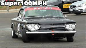 JOHNSON CHEVROLET CORVAIR - 2014 Muscle Car Masters - YouTube
