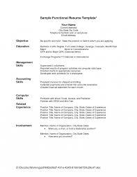 Functional Resume Example 2016 Functional Format Resume Template Free Sample Pdf Resumes 100 17