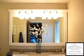 newest bathroom design crown molding mirror bathroom jacksonville crown molding window trim wainscot
