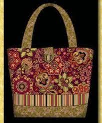 Mer enn 25 Bra ideer om Quilted Purse Patterns p̴ Pinterest ... & Homemade Quilted Bags Patterns Free | Purse, Bag and Tote Quilt Patterns Р QuiltBug Quilt Adamdwight.com