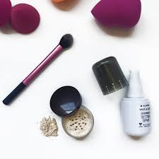 how to prevent sungles making marks in your makeup foundation