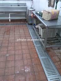 Kitchen Floor Drains Usage Kitchen Canteen Big Bathroom Workshop Metal Floor Grating