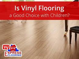 is vinyl flooring good children