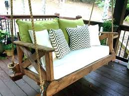 how to build a swing frame porch swing frame build a porch swing full image for