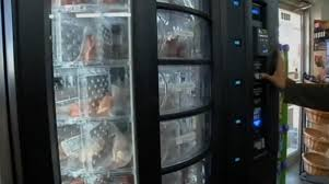 Office Vending Machines Extraordinary Vending Machine That Serves Meat