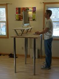 home depot standing desk designing home desks pipe table legs home depot husky holt62xdb11 build your