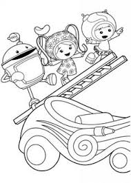 Small Picture Milli Team Umizoomi Coloring Pages Cartoon Coloring Pages