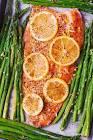 baked fish with lemon   black pepper