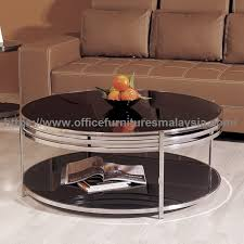 modern round glass coffee table coffee table promotion malaysia sungai buloh kepong subang 2