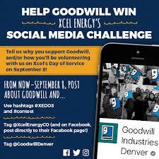 Xcel Energy Customer Service Help Goodwill Denver Win Xcel Energys Xedos Challenge