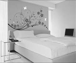 marvelous ideas black and white wall decor for bedroom feature wallpaper blue grey bathroom accent whites